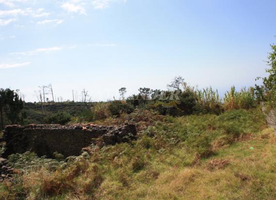 Ref1947, Plot of land with ruin for sale, Ponta do Pargo, Calheta