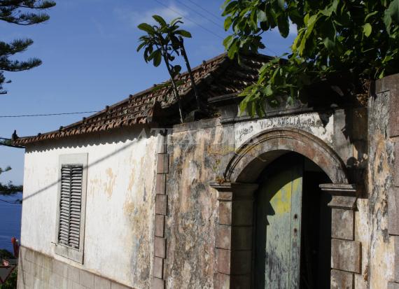 Ref1923, Plot of land with constructions to renovate, for sale, Arco de São Jorge, Santana