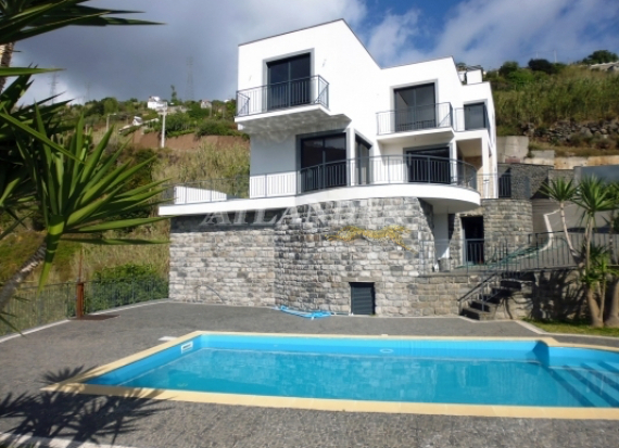 Ref1910, 3 bedrooms house with swimming pool for sale, new construction, Ribeira Brava, RIBEIRA BRAVA