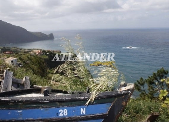 Ref1911ab, Plot of land with sea view for sale, Faial, Santana