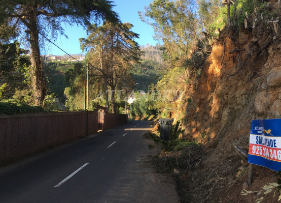 Ref1961, Plot of land with sea view for sale, Monte, Funchal