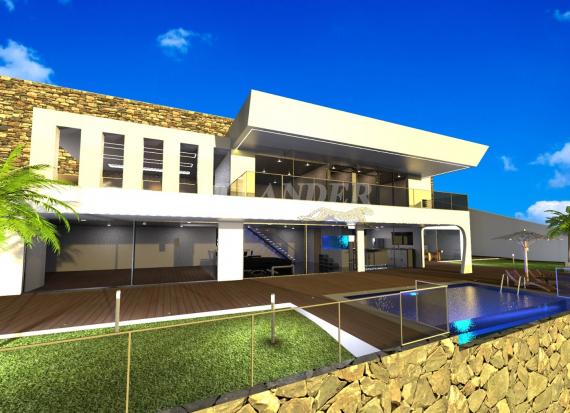 Ref1962, 3 bedrooms modern villa with swimming pool for sale, Arco da Calheta, Calheta